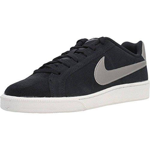 Nike Court Royale Suede, Zapatillas de Gimnasia para Hombre, Negro (Black/mtlc Pewter/light Bone), 40.5 EU
