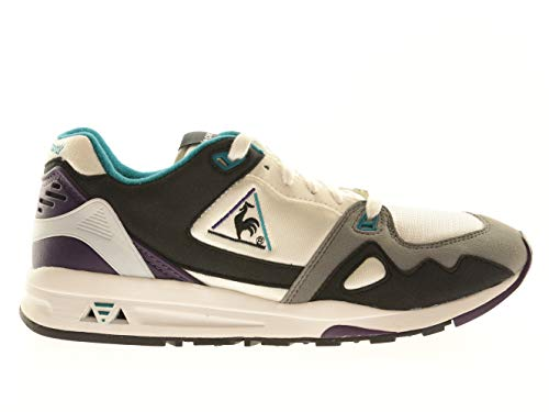 Le Coq Sportif LCS R 1000 Herren-Schuhe Sportschuhe Turnschuhe Low Sneaker Bunt, Größe:46, Farbe:Mehrfarbig