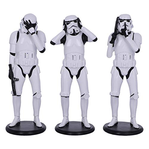 Nemesis Now Original Stormtrooper Figures 3-Pack Three Wise Stormtroopers 14 cm