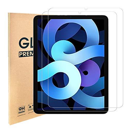 [2 Stück] iPad Air 4 Panzerglas,Schutzfolie für iPad Air 2020 (iPad Air 4. Generation,10,9 Zoll)