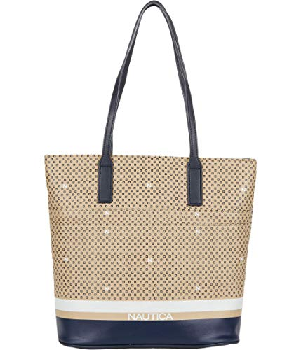 Nautica Cast Your Nets Zip Tote Sand One Size