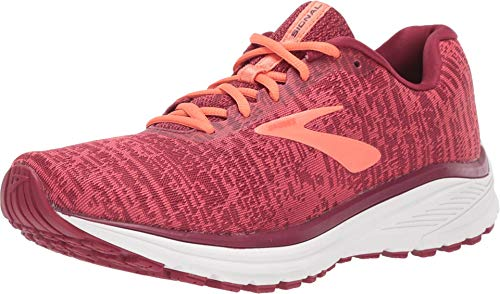 Brooks Women's Signal Running Shoe, Rumba Red/Teaberry/Coral 7 B US