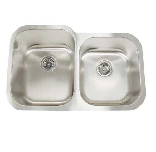 "Frigidaire FR3221-D99 sinksinksteel Gallery 32"" Undermount Kitchen Sink, Stainless Steel"