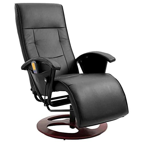 LCSA Massagesessel Relaxsessel Fernsehsessel TV Sessel mehrere Auswahl (Color : Schwarz)