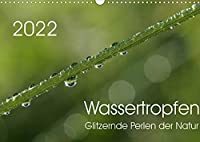 Wassertropfen - glitzernde Perlen der Natur (Wandkalender 2022 DIN A3 quer): Glitzernde und funkelnde Tropfen, in denen sich die Sonne faengt und die Umwelt widerspiegelt (Geburtstagskalender, 14 Seiten )