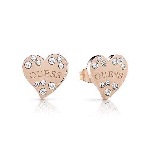 PENDIENTES CORAZON BRONCE GUESS UBE78053