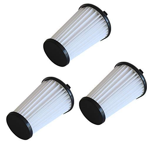 DXIA 3 Piezas Filtro para Aspiradoras AEG Ergorapido, Accesorios Extraíbles y Lavables, Filtro para Aspiradoras, para Todas Las Aspiradoras AEG CX7-2 Ergorapido, Filtro HEPA de Repuesto