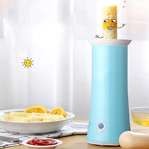 WANGIRL Mini máquina de Rollo de Huevo eléctrico Herramientas de cocción de Levantamiento automático Copa de Huevo Tomeleta Máquina de Salchicha Master Desayuno hogar LOLDF1