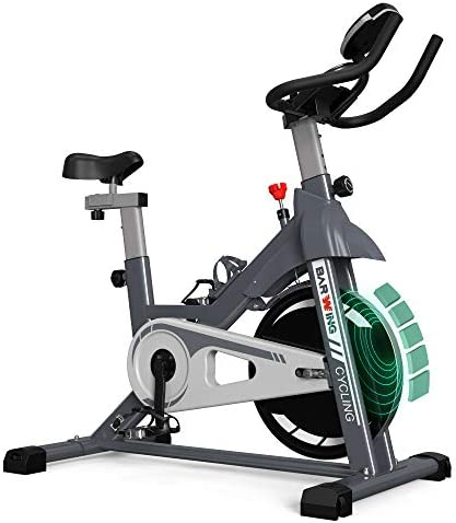 BARWING Exercise Bike Stationary with Magnetic Resistance Indoor Cycling Bike for Home Use Gray product image