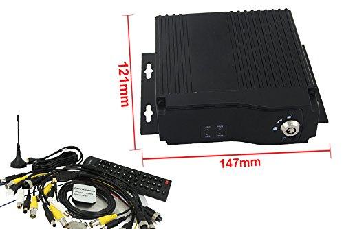 Mobile DVR Con GPS WCDMA SIM 3G 4G WiFi Videoregistratore Tracker Sorveglianza Antifurto Alarme Per Auto Camion Camper Veicoli Pesanti...