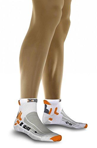 X-Socks Biking Silver - Chaussettes Homme - blanc Modèle 39 - 41 2013 chaussettes ski