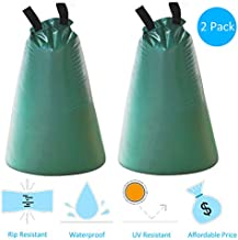 Gardzen 2-Pack Tree-Watering Drip Irrigation Bags, for Newly Planted Trees, Slow Release