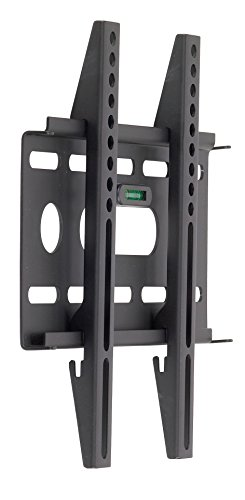 RCA MAF15BKR Slim Profile Design 15-32 Inches LCD/LED TV Wall Mount with Built-in Bubble Level, Black