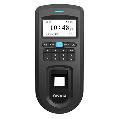 ANVIZ VF20: controllo accessi biometrico e codice PIN, connessione TCP/IP e Wi-Fi
