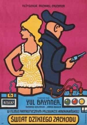 Westworld - YUL Brynner - Polish – Film Poster Plakat Drucken Bild – 43.2 x 60.7cm Größe Grösse Filmplakat