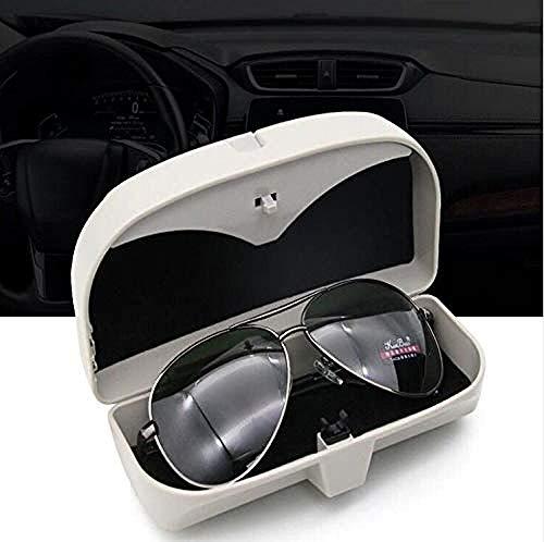 ZYTZK para Gafas de Coche para para BMW Todas Las Series 1 2 3 4 5 6 7 XEF Serie E46 E90 X1 X3 X4 X5 X6 F07 F09 diseño de Caja de Gafas de Vidrio para Coche-Beige