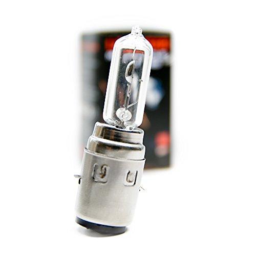 2 x H6 Birnen BA20d Motorrad Roller Halogen Lampe 35/35W Glühbirne Weiß 12V