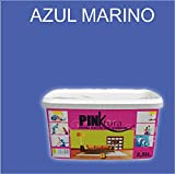 Pintura plástica Alta Decoración PINKTURA 2,5 litros (Azul Marino)