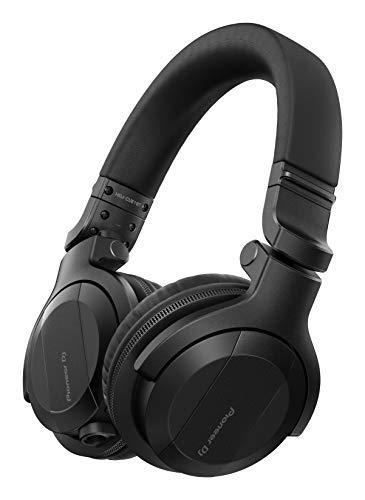 Pioneer DJ HDJ-CUE1BT-K, DJ Cuffie con Bluetooth, Nero
