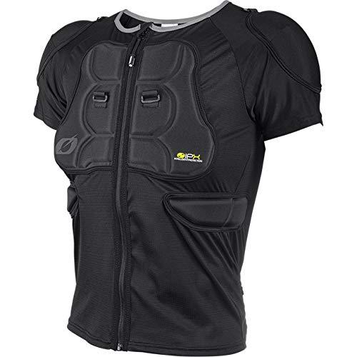 O'NEAL | Protektoren-Jacke | Motocross Enduro Motorrad | Bequeme Protektorenjacke, 4-Wege-Stretch-Mesh/Lycra, aus Polyurethan-Schaum | BP Protector Sleeve | Erwachsene | Schwarz | Größe L