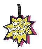 NOVAGO Gepäckanhänger - Lovely Identifikationsetikett Flagge Etikette für Koffer, Reisetasche, Rucksack, Schultasche (Put it Back)