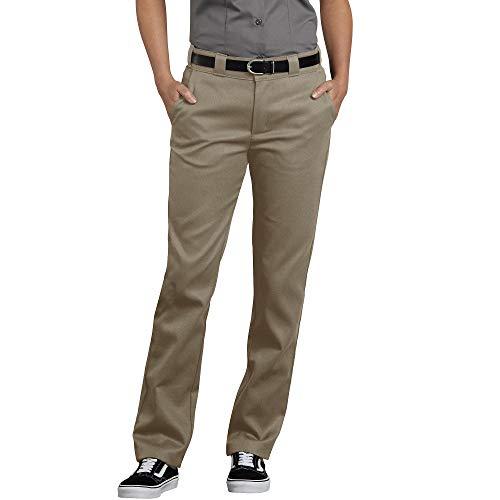 Dickies Damen Flex Slim Fit Work Pants Arbeitshose, Desert Sand, 46