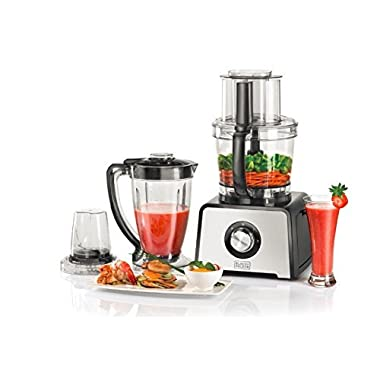 Black & Decker FX810 800-Watt Stainless Steel Food Processor, 220 Volts (Not for USA - European Cord)