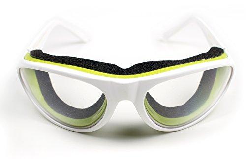 Eddingtons Zwiebel-Schutzbrille wei?