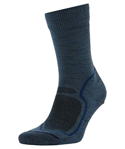 Icebreaker Mens Hike+ Light Crew Sock S Thunder