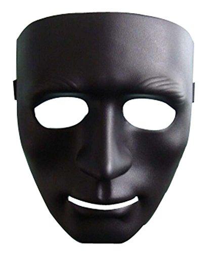 Masque Halloween Masquerade enfants Horreur Street Dance boules noires