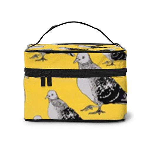 Make-up Taschen Etuis,Kosmetiktaschen Blackbird Pattern Travel Cosmetic Case Organizer Portable Artist Storage Bag with,Built-in Pocket,Multifunction Case Toiletry Bags for Women Travel Daily Carry