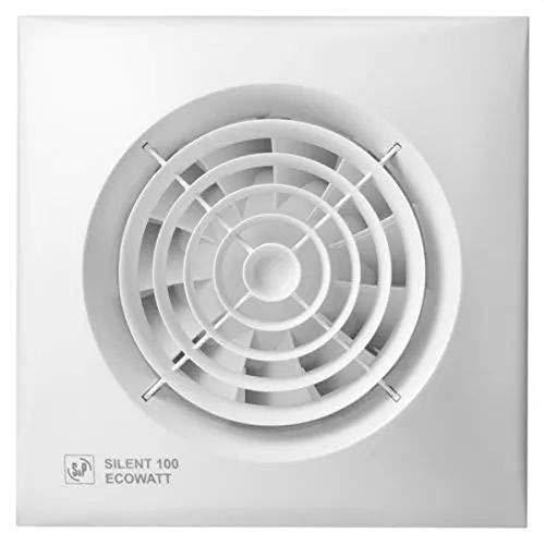 S & p silent-100 ecowatt - Extractor bano silent-100crz ecowatt 5w