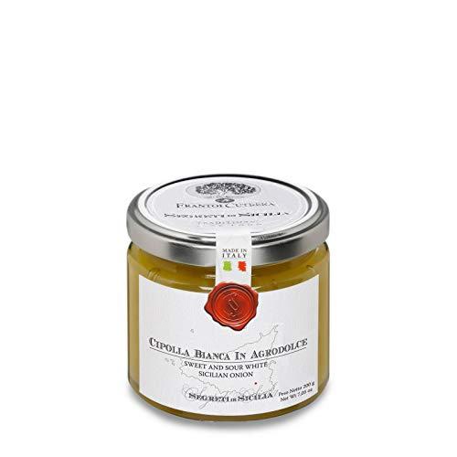 Cipolla bianca siciliana agrodolce 200gr
