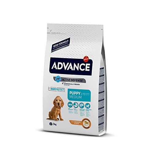 ADVANCE Medium Puppy Trockenfutter Hund, 1-er Pack (1 x 3 kg)