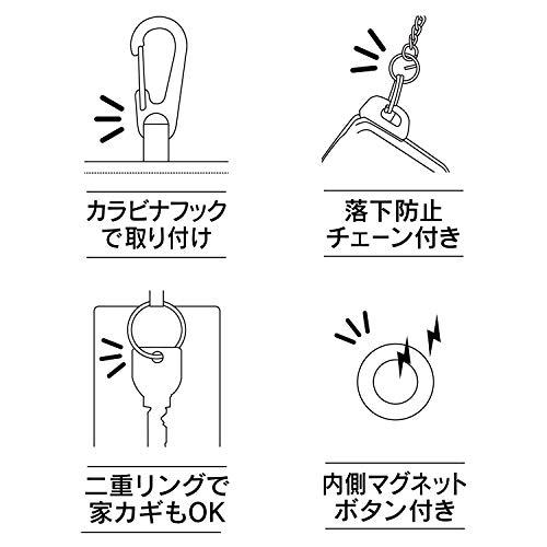 SEIWA(セイワ)『電波遮断スマートキーケースカーボン』