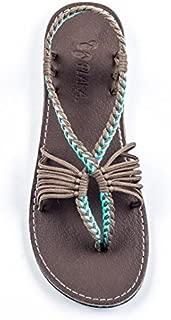 plaka sandals palm leaf