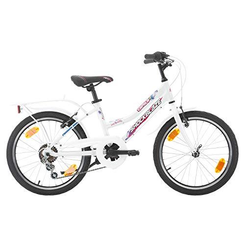 Bikesport Casper Bicicletta per Bambini 20', Altezza Telaio: 34 cm, Shimano 6 cambios