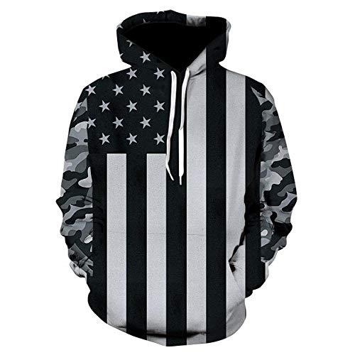 CYGGLL Brandneue Tiger 3D-Druck Hoodie Sweatshirt Männer Und Frauen Kapuzenpullover Sportswear Jacke Mode Straße Hip-Hop Style_L