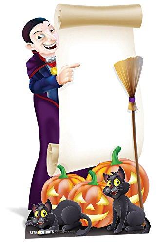 Star Einbauöffnungen LTD Halloween-Schild