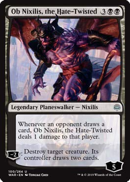 Magic: The Gathering - Ob Nixilis, The Hate-Twisted - War of The Spark