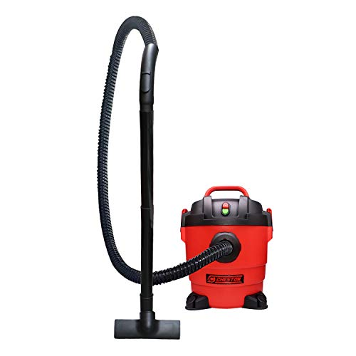 Cheston K-411 1000W Vacuum Cleaner with HEPA Filter Wet & Dry High Power Commercial Grade Canister Cleaning Blower Sweeping for Home, Office, Carpet & Car
