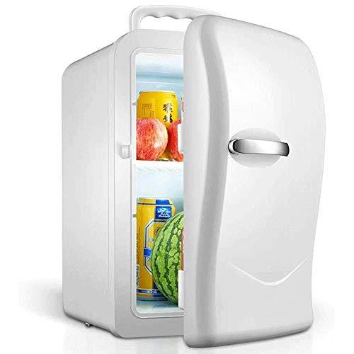 ZXCVB 20L Auto Kühlschrank Erkältung und Haushaltskleinweinklimaschrank Isolierung Kühlschrank Weinklimaschrank (Farbe: weiß)