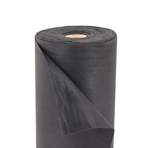 175 M² tapis de paillage geotexilvlies mauvaises herbes, de tentes, bâches multi-usage br 1 m 120 g.
