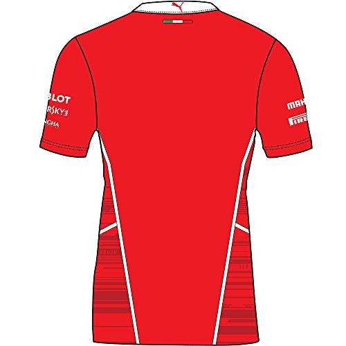 PUMA Men's SF Team PoloShirt, Rosso Corsa, X-Large