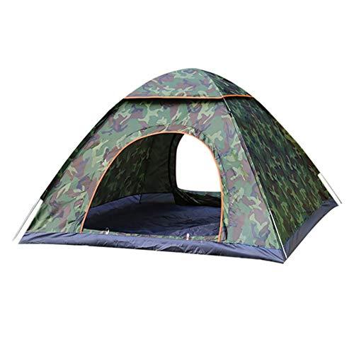 alpscale Campingzelt Rucksackreisenzelt tragbar wasserdicht Wanderzelt Anti-UV 2/3 Personen Faltbar Automatik Pop-Up Sonnenschutz Ultralight Sonnenschutz, Camouflage
