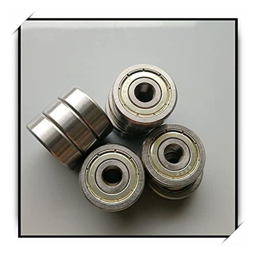 liuchenmaoyi Rodamientos de la Carretilla 10pcs 8 x 28 x 9 mm ABEC-7 Rodamientos de Bolas de Ranura Profunda rodamientos de Patinaje