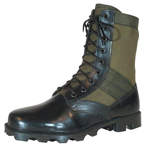Fox Outdoor Products Vietnam Jungle Boot, Olive Drab, Size 9