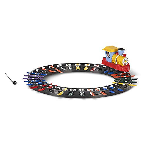 Ababy Classic Musical Railroad Xylophone Train- Colorful Train Track Set with Xylophone for Kids (96295)