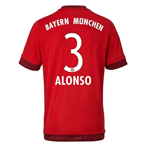 adidas 2015-16 Bayern Múnich (Alonso 3) Camiseta