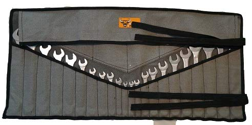 Bull Tools 26 Pocket Wrenches and Tools Bag Organizer